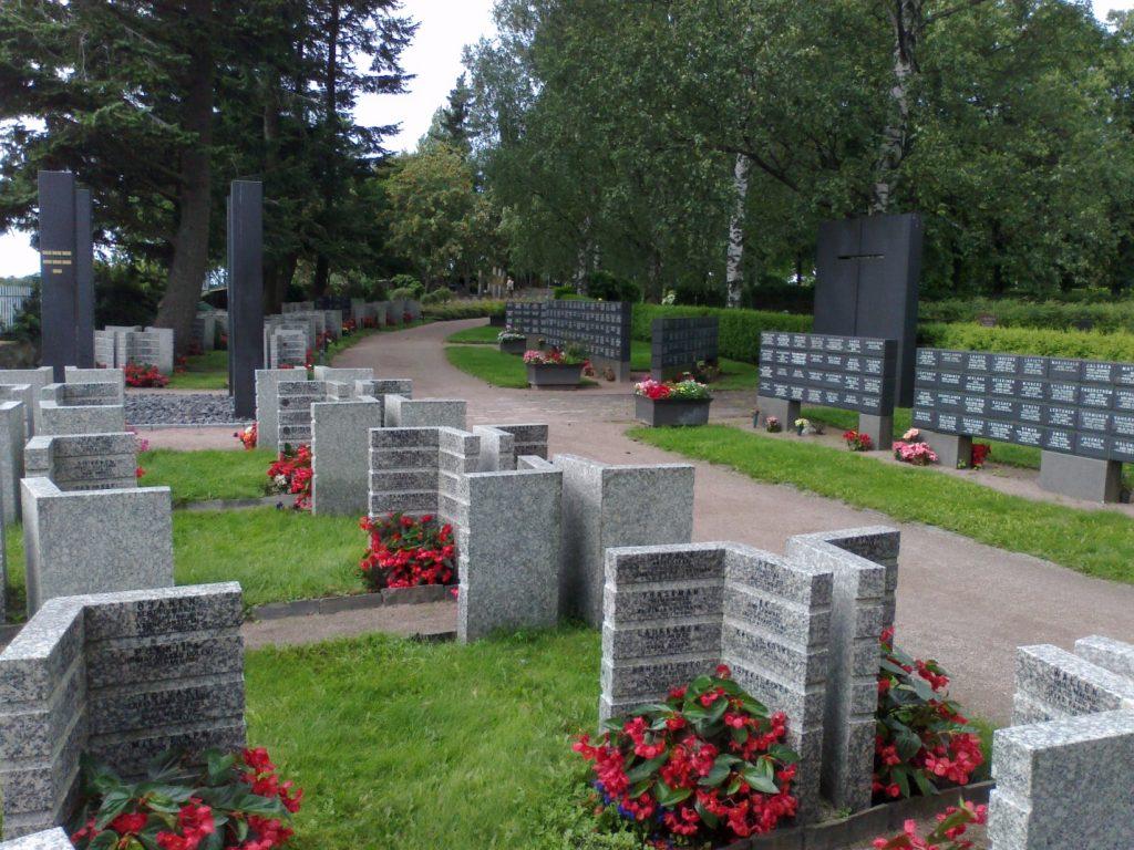 Кладбище в Хиетаниеме
