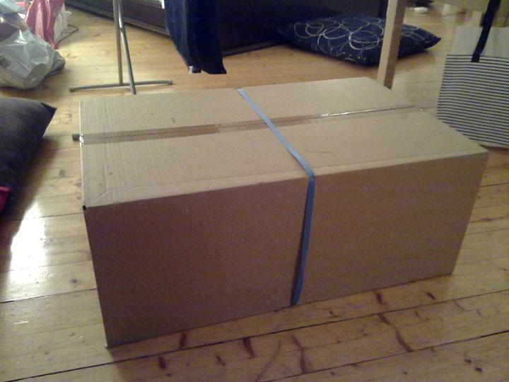 Коробка для новорожденного в Финляндии