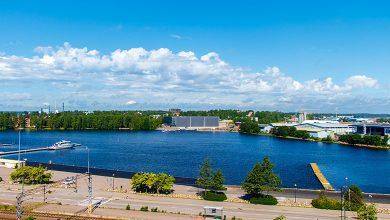 Город Котка, Финляндия