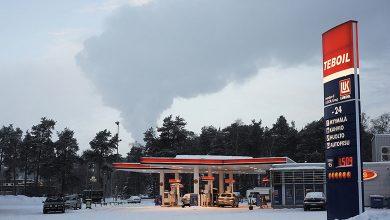 бензин в Финляндии