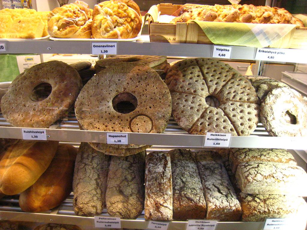 Хлеб с отверстием по центру